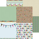 Nikki Sivils - Its Your Day Collection - 12 x 12 Double Sided Paper - Birthday Minis