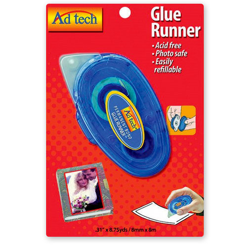 Adhesive Technologies - Glue Runner - Permanent Bond - 8.75 yards