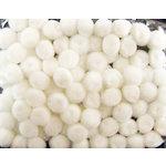 Darice - Pom Poms - One Half Inch - White