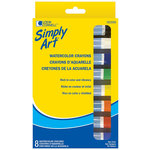 Loew-Cornell - Simply Art - Watercolor Crayons - 8 Pack