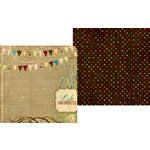 Memory Works - Simple Stories - Life Documented Collection - 12 x 12 Double Sided Paper - Celebrate Life