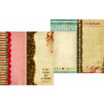 Memory Works - Simple Stories - Life Documented Collection - 12 x 12 Double Sided Paper - Page Elements