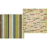 Memory Works - Simple Stories - Destinations Collection - 12 x 12 Double Sided Paper - Going Places