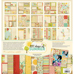 Memory Works - Simple Stories - 100 Days of Summer Collection - 12 x 12 Collection Kit