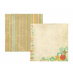 Memory Works - Simple Stories - 100 Days of Summer Collection - 12 x 12 Double Sided Paper - 100% Summer Fun