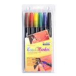 Marvy Uchida - Brush Marker Set - 6 Pieces