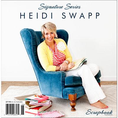 Northridge Media - Signature Series - Scrapbook Trends Idea Book - Heidi Swapp