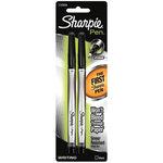 Sharpie - Fine Point - Writing Pens - Black - 2 Pack