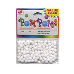 Westrim Crafts - Pom Poms  - 5mm - White