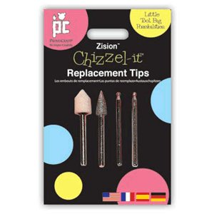 Provo Craft Zision Chizzel-It Replacement Tips - Set 1, CLEARANCE
