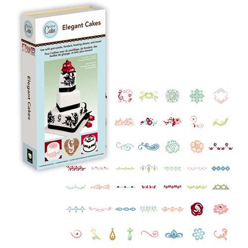 Provo Craft - Cricut Cake - Personal Electronic Cutting Machine for Cake Decorating - Elegant Cakes - Shapes Cartridge
