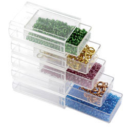Beadalon - Jewelry - Stackable Containers - Drawers - 10 Stack