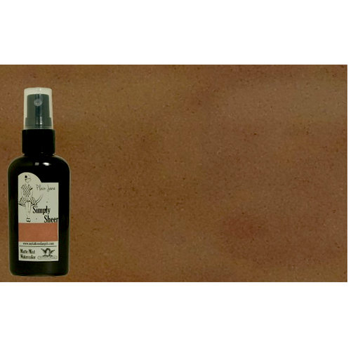 Tattered Angels - Plain Jane Collection - Simply Sheer - Watercolor Matte Mist - 2 Ounce Bottle - Burlap