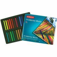 Derwent - Inktense Blocks - Ink Blocks - 24 Pieces