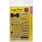 Waffle Flower Crafts - Clear Acrylic Stamps - Bowtiful