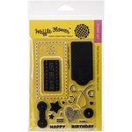Waffle Flower Crafts - Clear Acrylic Stamps - Surface Tag