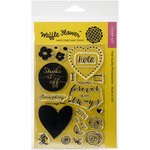 Waffle Flower Crafts - Clear Photopolymer Stamps - DT Mix