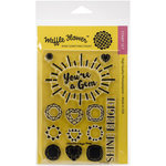 Waffle Flower Crafts - Clear Acrylic Stamps - Gemstone