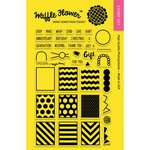 Waffle Flower Crafts - Clear Acrylic Stamps - Little Gifts