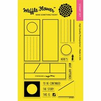 Waffle Flower Crafts - Clear Photopolymer Stamps - Storyboard