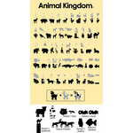 Provo Craft - Cricut Personal Electronic Cutting System - Animal Kingdom - Shapes Cartridge, CLEARANCE