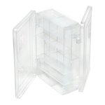 Creative Options - Double-Sided Micro Utility - 14 Compartments - Clear