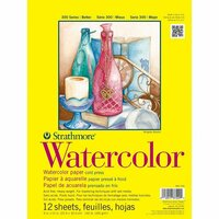 Strathmore - 9 x 12 Watercolor Paper Pad - 12 Sheets