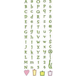 Provo Craft - Cuttlebug - Die Cut Set - Alphabet - You're Not The Boss Of Me, CLEARANCE