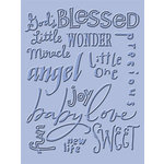 Provo Craft - Cuttlebug - Embossing Folder - Baby