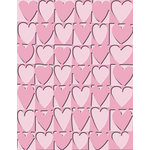 Provo Craft - Cuttlebug - Embossing Folder - Heart Blocks