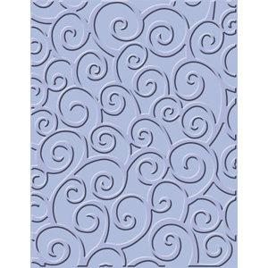 Provo Craft - Cuttlebug - Embossing Folder - D'vine Swirls