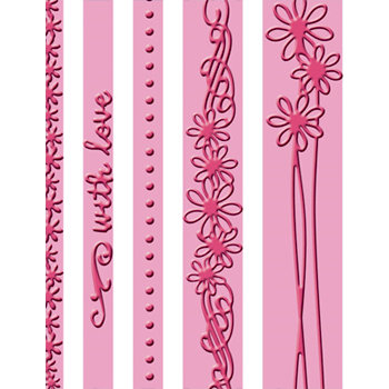 Provo Craft - Cuttlebug - Embossing Folder - With Love