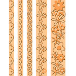 Provo Craft - Cuttlebug - Embossing Folder - Frills