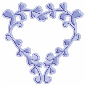 Provo Craft - Cuttlebug - Cut And Emboss - Disney - Heart Frame