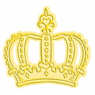Provo Craft - Cuttlebug - Cut And Emboss - Disney - Majestic Crown, CLEARANCE