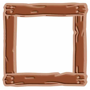 Provo Craft - Cuttlebug - Cut And Emboss - Disney - Wooden Frame, CLEARANCE