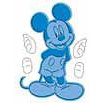 Provo Craft - Cuttlebug - Cut And Emboss - Disney - Mickey, CLEARANCE