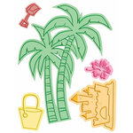 Provo Craft - Cuttlebug - Cut And Emboss - Disney - At The Beach, CLEARANCE