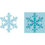 Provo Craft - Cuttlebug - Embossing Folder and Die Cut Combo - Ice Crystal