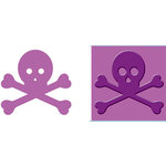 Provo Craft - Cuttlebug - Embossing Folder and Die Cut Combo - Beware