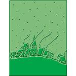 Provo Craft - Cuttlebug - Embossing Folder - Winter House