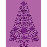 Provo Craft - Cuttlebug - Christmas - Embossing Folder - Lace Tree
