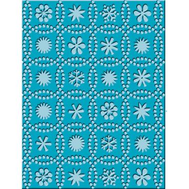 Provo Craft - Cuttlebug - Embossing Folder - Snow Dots