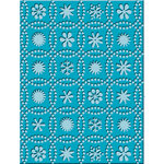 Provo Craft - Cuttlebug - Embossing Folder - Snow Dots