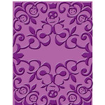 Provo Craft - Cuttlebug - Embossing Folder - Skeleton Scroll, CLEARANCE