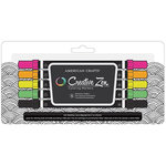 American Crafts - Creative Zen - Coloring Markers - Fluorescent - 5 Pack