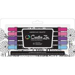 American Crafts - Creative Zen - Coloring Markers - Pastel - 5 Pack
