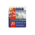 Caran D'Ache - NeoColor II - Water Soluble Crayons - Pastel - 10 Pack