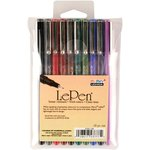 Marvy Uchida - Le Pens - Dark - 10 Pack