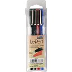 Marvy Uchida - Le Pens - Basic - 4 Pack - .03mm